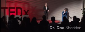 Dr Dae TedX onstage